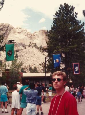 Robert Wright, Mount Rushmore, 1994, July 4th