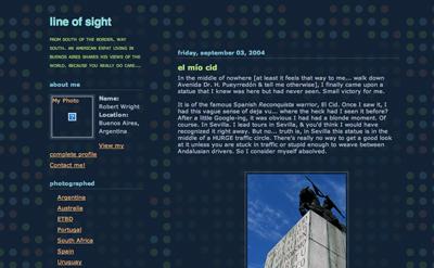Robert Wright, blog, Line of Sight, wrighton.com.ar