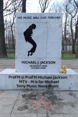 Bucureşti, Romania, Bucharest, Herăstrău Park, Ursula, Michael Jackson memorial