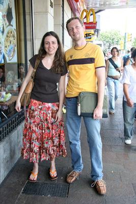 Buenos Aires, Andreea Francu, Robert Wright