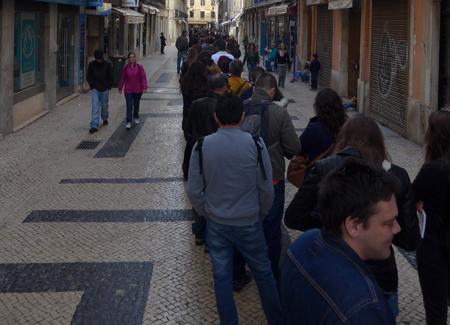 Portugal, Lisboa, Lisbon, Baixa, galerias romanas