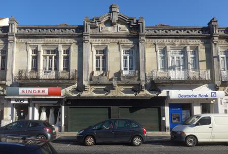 Portugal, Aveiro, architecture, Art Deco