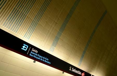 Portugal, Lisboa, Metro, subway, tiles, azulejos, Maria Keil, São Sebastião