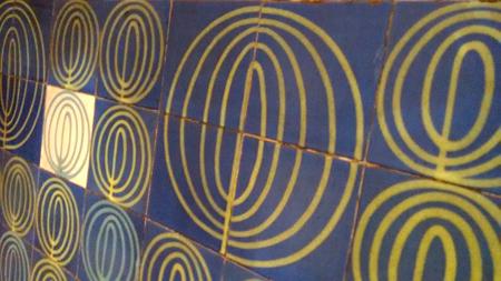 Portugal, Lisboa, Metro, subway, linha azul, tiles, azulejos, Marquês de Pombal, Maria Keil, Wikipedia