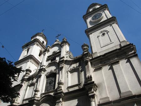 Argentina, Buenos Aires, Monserrat, Iglesia de San Ignacio