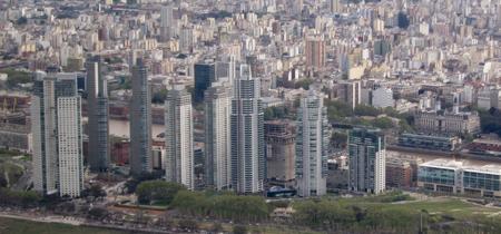 Argentina, Buenos Aires, Puerto Madero, skyscrapers