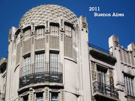 Argentina, Buenos Aires, Art Nouveau, 2011
