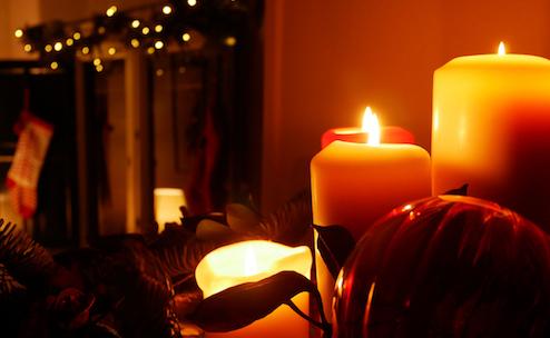 Christmas, Sevilla, 2020, candles