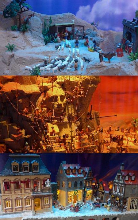 Spain, España, Christmas, Navidad, Sevilla, Playmobil