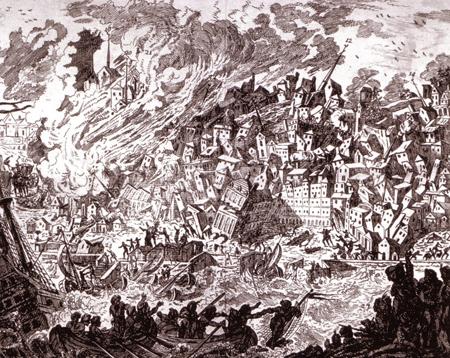 Portugal, Lisboa, 1755 earthquake
