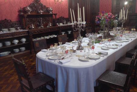 Portugal, Lisboa, Palácio da Ajuda, Sala de Jantar, dining room