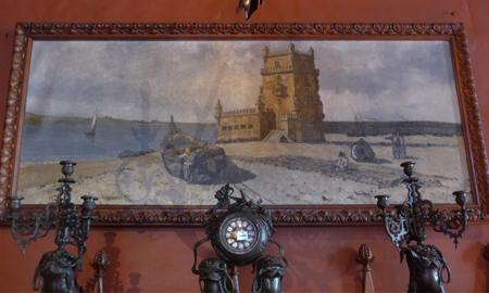 Portugal, Lisboa, Palácio da Ajuda, Atelier de Dom Carlos I, Torre de Belém
