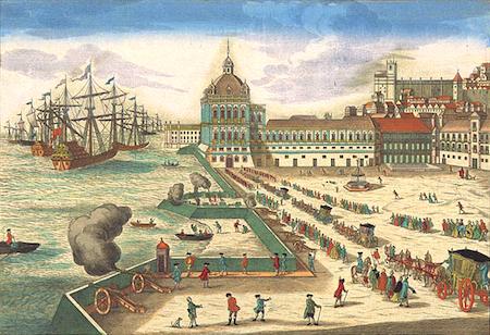 Portugal, Lisboa, Terreiro do Paço, palácio real