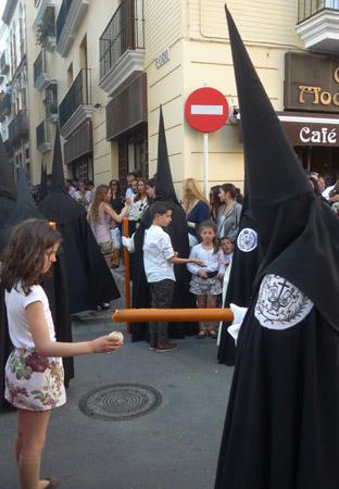 España, Spain, Semana Santa, Holy Week, wax ball