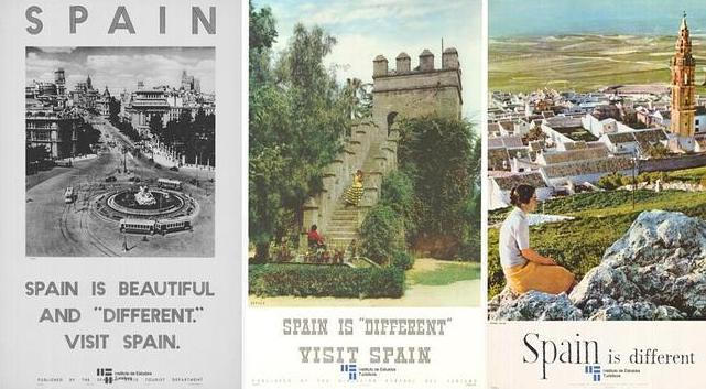 Spain, travel, poster, España es diferente