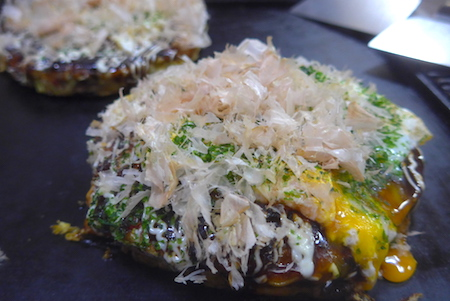 Japan, Tokyo, food, okonomiyaki