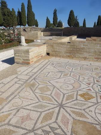 España, Andalucía, Itálica, mosaic