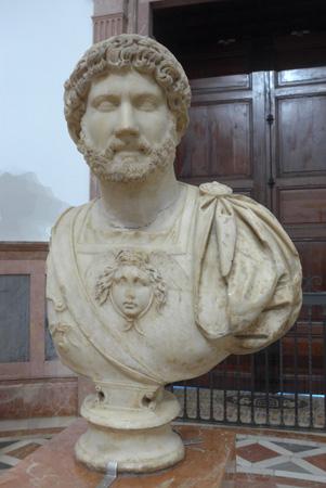 España, Sevilla, Museo Arqueológo, Hadrian, bust