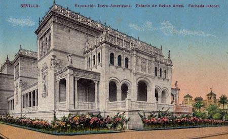 España, Sevilla, 1929 Exposición, Pabellón Bellas Artes, Museo Arqueológico