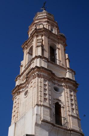 España, Spain, Andalucía, Écija, Iglesia de la Victoria, torre