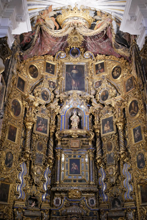 España, Spain, Sevilla, Jesuit, San Luis de los Franceses, Baroque, main altar