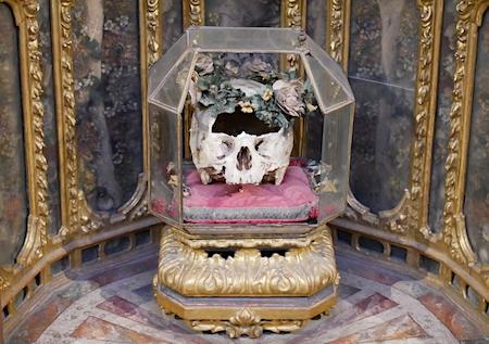 España, Spain, Andalucía, Sevilla, San Luis de los Franceses, Baroque, relic