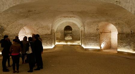 España, Spain, Sevilla, Jesuit, San Luis de los Franceses, Baroque, crypt
