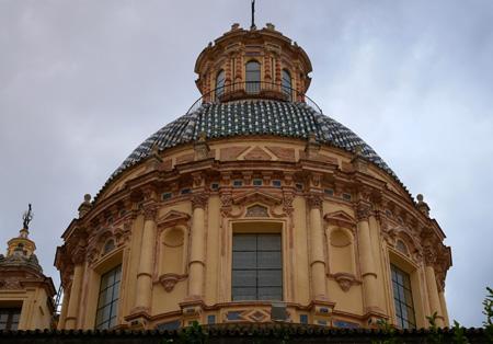 España, Spain, Sevilla, Jesuit, San Luis de los Franceses, Baroque, dome
