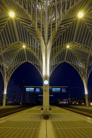 Portugal, Lisboa, Lisbon, Estação do Oriente, Santiago Calatrava