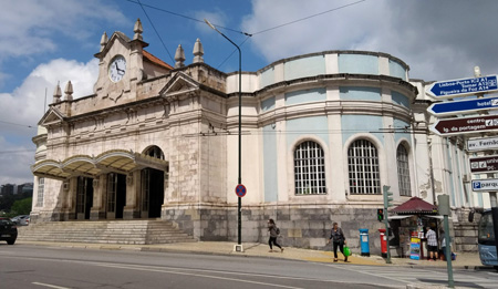 Rick Steves, guidebook research, Portugal, Coimbra, estação, comboio