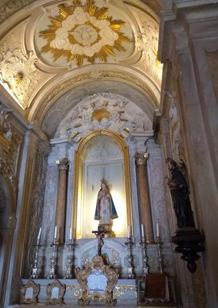 Portugal, Lisboa, Lisbon, Palácio Fronteira, Mascarenhas, capela