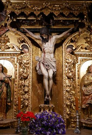 España, Andalucía, Osuna, Colegiata, iglesia, church, capilla del Cristo de la Misericordia