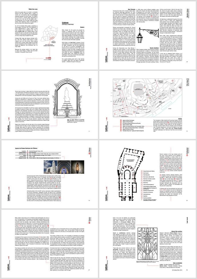 Endless Mile, Catholic heritage guide, contact sheet