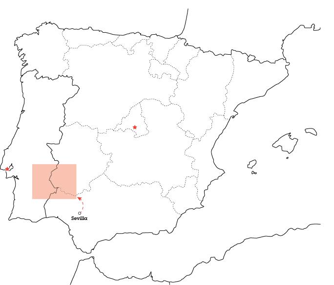 borders, road trip, map, Spain, Portugal