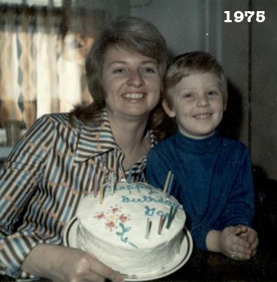 Mom, Robert Wright, Elizabeth Gae Wright, 1975