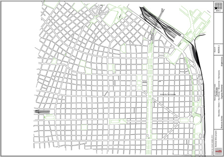 Buenos Aires, domes, cúpulas, 2011 map, Endless Mile