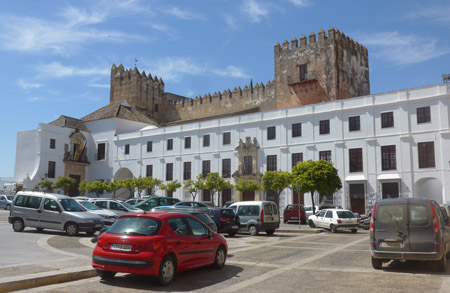 Arcos de la Frontera, Plaza del Cabildo, castillo, castle