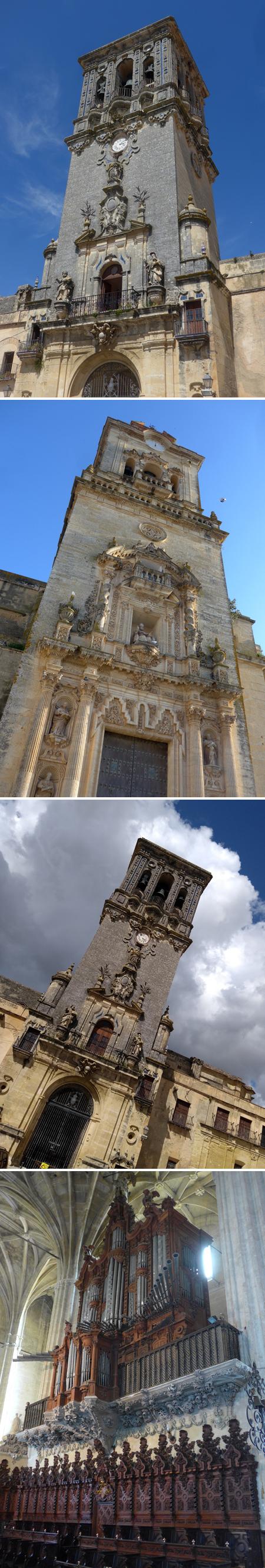 Arcos de la Frontera, iglesias, Baroque, Rococo