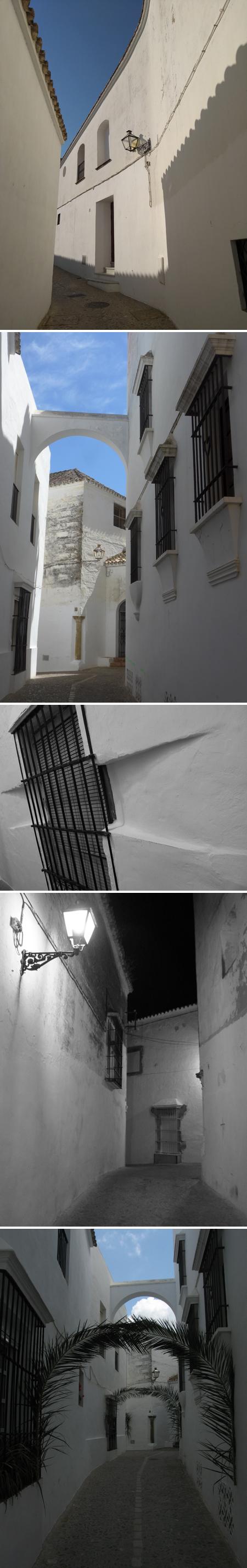 Arcos de la Frontera, arches, Di Chirico