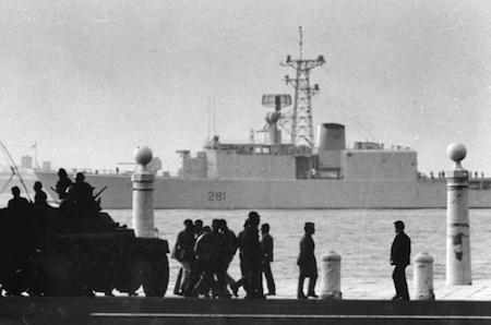 Portugal, Lisboa, Alfredo Cunha, 1974, Carnation Revolution, Cais das Colunas