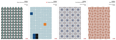Portugal, azulejos, tiles, AI, vector, reproductions, Endless Mile