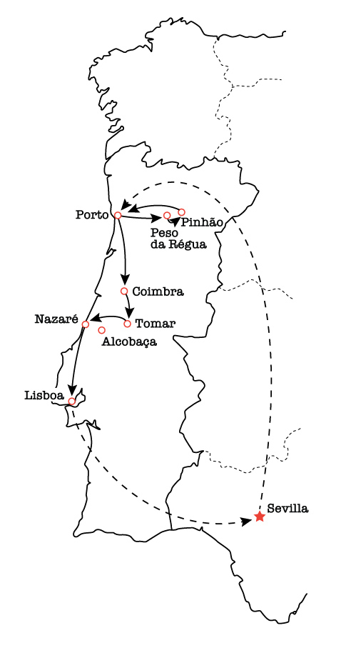 guidebook research, schedule, 2020, Rick Steves' Europe, Portugal