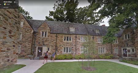 Rhodes College, Glassell Hall, Memphis, Tennessee, 1988