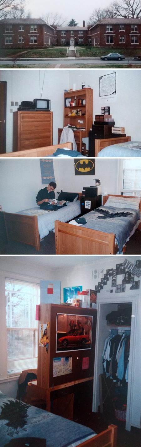 Rhodes College, Stewart Hall, Memphis, Tennessee, 1989
