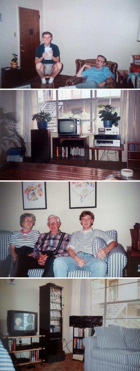 University Cabanas, Memphis, Tennessee, 1991-1994