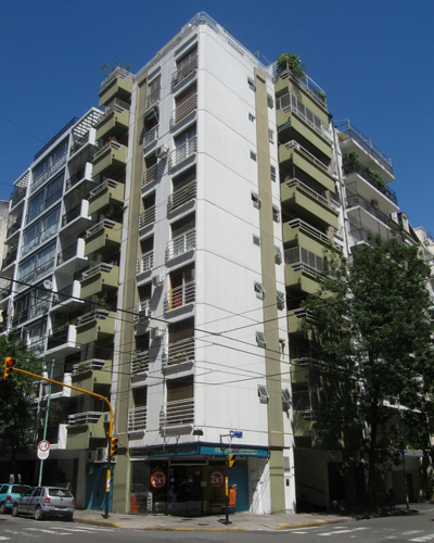 places lived, Buenos Aires, Argentina, 2009, Recoleta