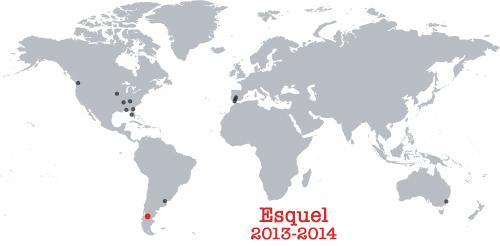 places lived, Argentina, 2013-2014, Esquel