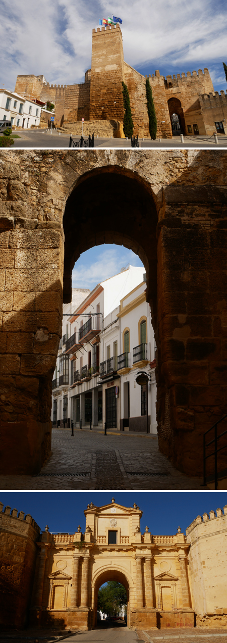 España, Spain, Andalucía, Carmona, Puerta de Sevilla, Puerta de Córdoba