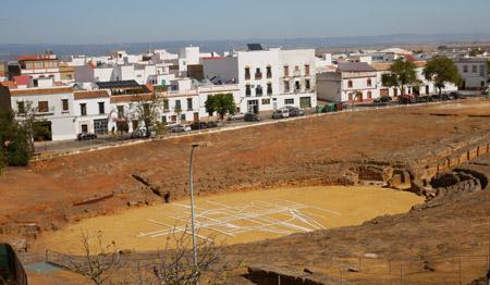 España, Spain, Andalucía, Carmona, amphitheater, Roman