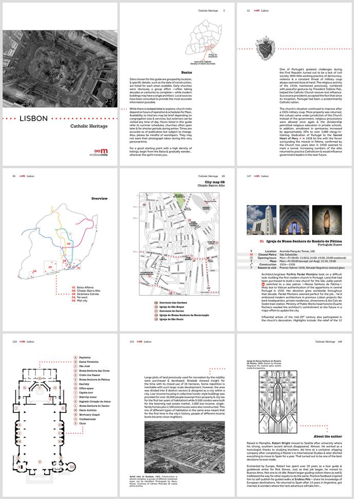 Endless Mile, Catholic heritage guide
